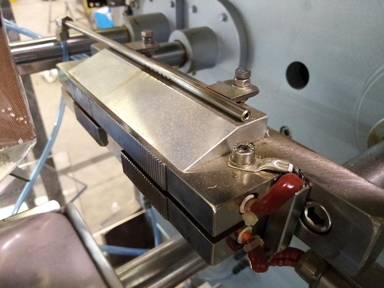 Refrigeración neumática soldadura horizontal