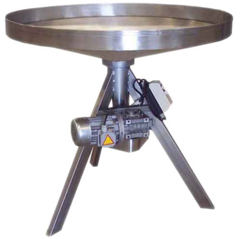 mesa redonda giratoria motorizada